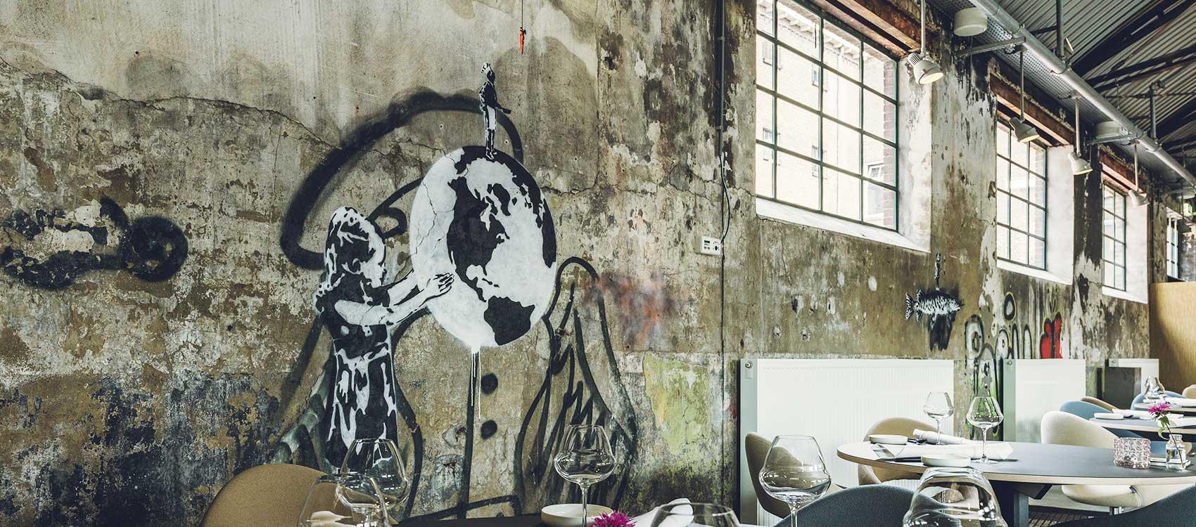 Sterrenkeuken in fabriekshal