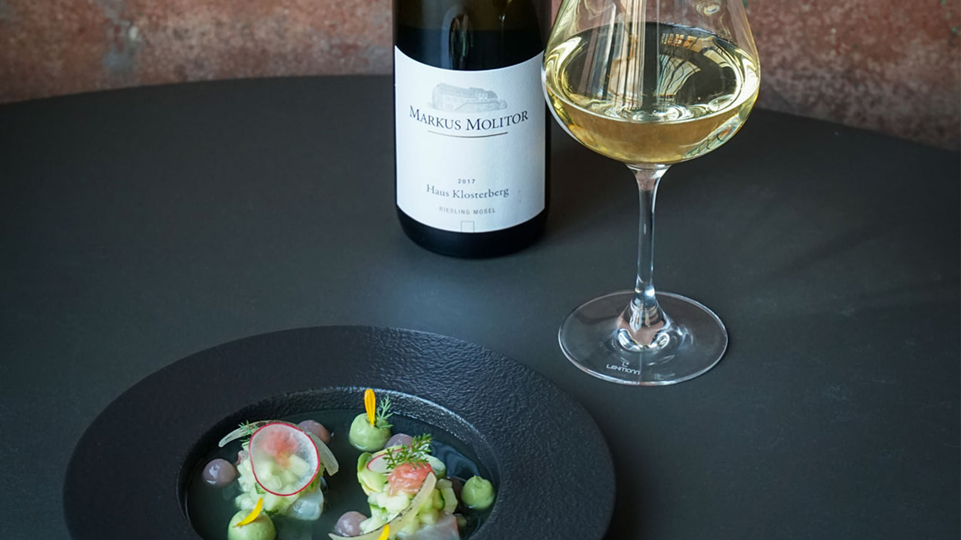 Wijn spijscombinatie Yellowtail Kingfish – Riesling Weingut Markus Molitor